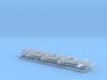 1/700 TBF w/Gear x8 (FUD) 3d printed