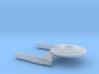 Terran Minotaur B Class Gen 2 Cruiser - 1:7000 3d printed