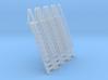 N Scale Ladder 11 (4pc) 3d printed