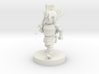 Gnome Female Fighter with Mace 3d printed