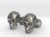 Skull Cufflinks 3d printed