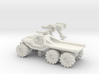 All-Terrain Vehicle 6x6 with open cargo bed 3d printed