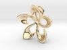 Flowering Plumaria Pendant 3d printed