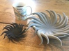 Tentacle Bowl 3d printed Size comparison for Small and Large models