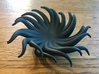 Tentacle Bowl 3d printed Printed Small model in beta material HP Fusion Strong and Flexible Black