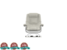 Miniature Impulse Recliner & Ottoman 3d printed Miniature Impulse Recliner & Ottoman