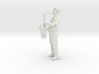 Scanned Saxophone player 6CM High 3d printed