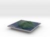 Oak Island Aerial Map: 5 Inch 3d printed