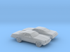 1/160 2X 1975 Chevrolet Chevelle MalibuClassicCoup 3d printed