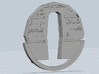 YT1300 MPC CABIN BACK WALL 3d printed Millennium Falcon cabin back wall rear, render