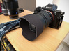 Mitakon 50mm f0.95 Tulip-style Lens Hood for early 3d printed