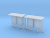 N Scale 2 Industrial Relay Cabinets 3d printed