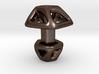 Pentagonal Cufflink Twisted 3d printed