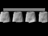 1/25 scale Roman Legionary tunics (4) 3d printed