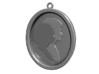 Wedding Cameo Pendant Of Meighan & Chris 3d printed CGI Render of The Pendant