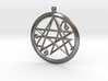 Sigil of the Gates keychain 4.5cm 3d printed