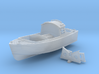 "1/96 Royal Navy 16ft Fast Motor Boat 3d printed 1/72 Royal Navy 16ft Fast Motor Boat ""Skimming Dish"""