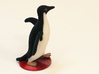 Socially Awesome Penguin 3d printed