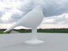 Canary Bird 3d printed Back Side View, Canary Bird