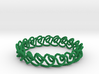 Chain stitch knot bracelet (Rope) 3d printed