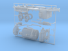 1/87th Vacuum Excavator Trailer 3d printed