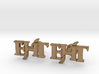 Monogram Cufflinks EHT 3d printed