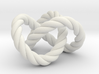 Trefoil knot (Rope) 3d printed