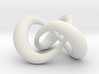 Varying thickness trefoil knot (Circle) 3d printed