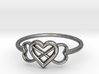 Infinity Love Ring  3d printed