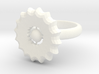 16-pointed Ring 3d printed