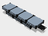 Blackmagic-Design Mini Converter Mounting Bracket 3d printed You can add multiple units to one spacer.