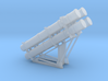 Harpoon missile launcher 4 pod 1/100 3d printed