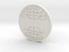 1:16 Customizable Scale Manhole Cover Cavandish Ir 3d printed