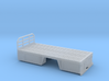 1/87th 18 foot Tire Service or utility Flatbed 3d printed