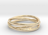 Triple alliance ring 3d printed