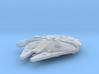 1:2700 Millenium Falcon in flight 3d printed