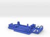 Slot car chassis for Cobra 1/28 3d printed