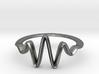 Wavelet Ring, Size 4.5 3d printed