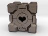 Portal Companion Cube 3d printed