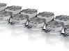 Devastator Turret set of 12 (5mm) 3d printed