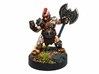 Dwarf Barbarian 3d printed Painted with acrylic paints and mounted on a one inch base.