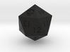 D20 Black Mana Symbol (MTG) 3d printed