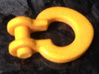 300 Ton Bail Shackle (1 To 50 Scale) 3d printed Add a caption...