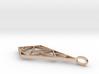 Minimalist Geometric Pendant 3d printed