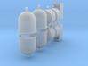 Wertstoffcontainerset 10er 1:120 TT 3d printed