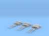 1/600 IJN 46cm/45 (18.1 in) Type 94 Guns 1945 Set 3d printed