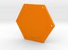 Kossel XL Spulenhalter - Ndo Design 3d printed