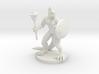 Lizardfolk Cleric 3d printed