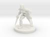 Female Katar Fighting Rogue 3d printed