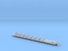 Inneneinrichtung Steuerwagen Transalpin  Scale N 3d printed
